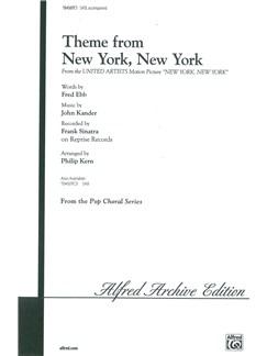 John Kander: Theme From New York, New York (SATB) Books | SATB, Piano Accompaniment