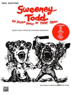 Stephen Sondheim: Sweeney Todd (Vocal Selections) Books | Voice, Piano