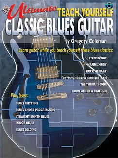Ultimate Teach Yourself Blues Guitar (Book And CD) Books | Guitar