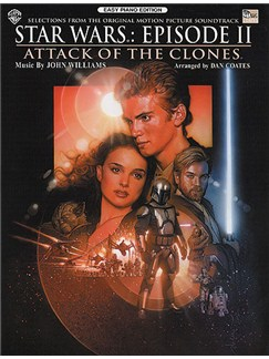 John Williams: Star Wars Episode II Attack Of The Clones For Easy Piano Books | Piano
