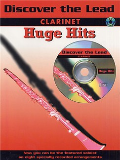 Discover The Lead: Clarinet Huge Hits Books and CDs | Clarinet (with Chord Symbols)