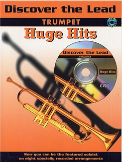 Discover The Lead: Trumpet Huge Hits Books and CDs | Trumpet (with Chord Symbols)