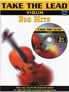 Take The Lead: Big Hits (Violin) Books and CDs | Violin