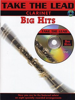 Take The Lead: Big Hits (Clarinet) Books and CDs | Clarinet