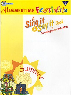 Sing It And Say It: Summertime Festivals (Performance Pack) Books and CD-Roms / DVD-Roms | Voice, Piano Accompaniment