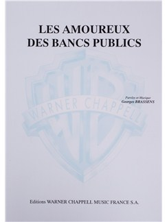 Georges Brassens: Les Amoureux Des Bancs Publics Buch | Gesang, Klavierbegleitung