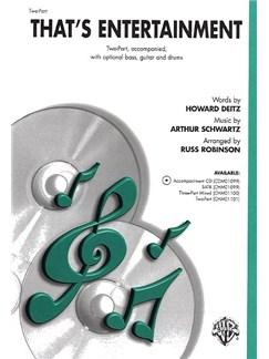 Arthur Schwartz: That's Entertainment (Two-Part) Books | Piano, Voice