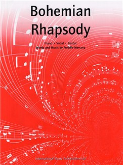 Queen: Bohemian Rhapsody Books | Piano, Vocal & Guitar (with Chord Boxes)