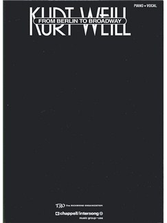 Kurt Weill - From Berlin to Broadway Books | Piano, Vocal & Guitar