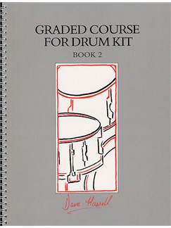 Graded Course For Drum Kit Book 2 Books and CDs | Drums