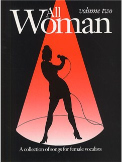 All Woman Volume Two Books | Piano and Voice, with Guitar chord boxes