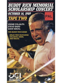 Buddy Rich Memorial Scholarship Concert: Tape Two (Video) DVDs / Videos | Drums