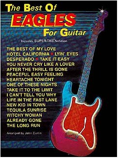 The Best Of The Eagles For Guitar Books | Guitar Tab, with chord boxes