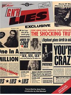 Guns N Roses Lies Books | Guitar Tab