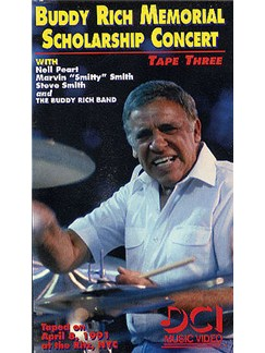 Buddy Rich Memorial Scholarship Concert: Tape Three (Video) DVDs / Videos | Drums