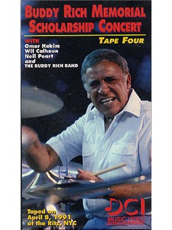 Buddy Rich Memorial Scholarship Concert: Tape 4 DVDs / Videos | Drums