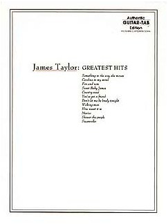James Taylor: Greatest Hits (TAB) Books | Guitar Tab