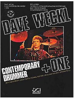 Dave Weckl: Contemporary Drummer + One Books and CDs | Drums