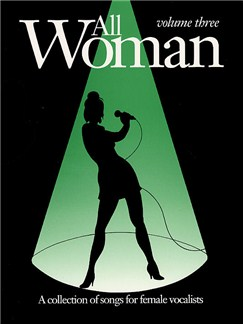 All Woman - Volume Three Books | Piano and Voice, with Guitar chord boxes