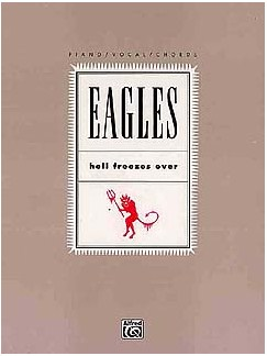 The Eagles: Hell Freezes Over Books | Piano, Voice and Guitar Chord Boxes