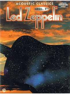 Led Zeppelin Acoustic Classics Vol. 2 (TAB) Books | Guitar Tab