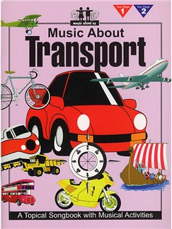 Music About Us - Music About Transport Books | Piano and vocal with guitar chord symbols and boxes