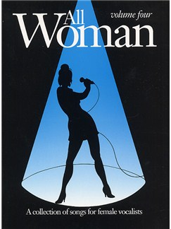 All Woman Volume Four Books | Piano and Voice, with Guitar chord boxes