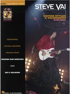 Steve Vai Guitar Styles And Techniques Books and CDs | Guitar Tab
