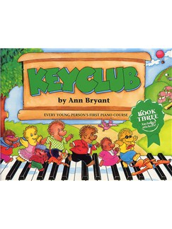 Keyclub Pupils Book 3 Piano Books | Piano