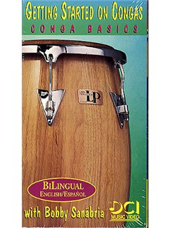 Getting Started On Congas: Conga Basics (Video) DVDs / Videos | Congas