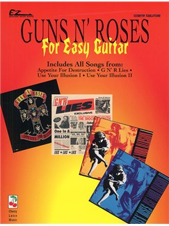 Guns N' Roses For Easy Guitar With Tablature And Riffs Books | Tab