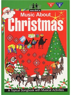 Music About Christmas Books | Piano and vocal with guitar chord symbols and boxes