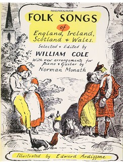 Folk Songs of England, Ireland, Scotland and Wales Books | Piano, Voice & Guitar with Chord Symbols