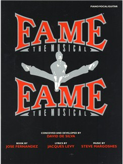 Fame: The Musical Books | Piano, Vocal & Guitar (with Chord Boxes)