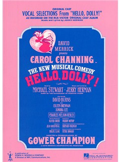 Jerry Herman: Vocal Selections From Hello Dolly Books | Piano, Voice, And Guitar Chord Boxes