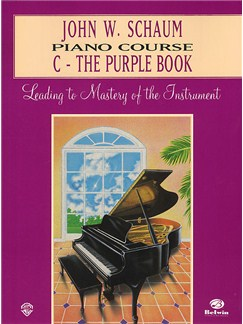 John W. Schaum: Piano Course C The Purple Book Books | Piano