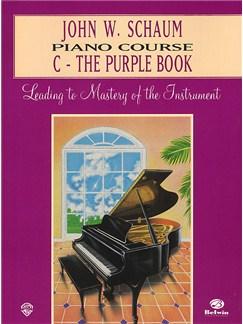 John W. Schaum: Piano Course C The Purple Book Books | Piano