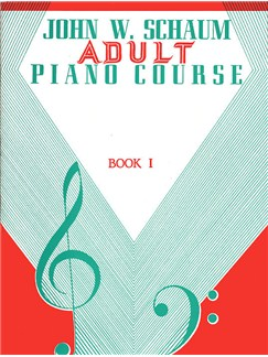 John W. Schaum: Adult Piano Course Book 1 Books | Piano