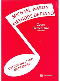 Michael Aaron: Méthode De Piano Volume 2 (Edition Française) Books | Piano