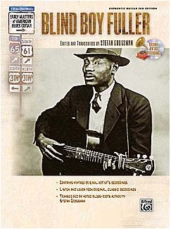 Early Masters Of American Blues Guitar: Blind Boy Fuller Books and CDs | Guitar, Guitar Tab