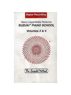 Suzuki Piano School Volumes 3 And 4 Cassette  | Piano