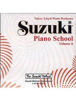 Suzuki Piano School 6 (CD) CDs | Piano