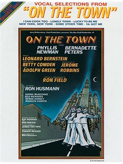 Leonard Bernstein: On The Town - Vocal Selections Books | Piano, Voice & Guitar with Chord Symbols