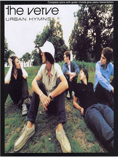 The Verve: Urban Hymns PVG Books | Piano, Voice and Guitar Chord Boxes
