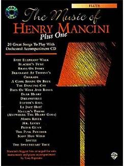 The Music Of Henry Mancini Plus One: Alto Saxophone Books   Alto Saxophone