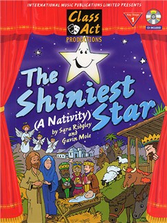 Sara Ridgley/Gavin Mole: The Shiniest Star (A Nativity) Books and CDs | Piano, Vocal & Guitar
