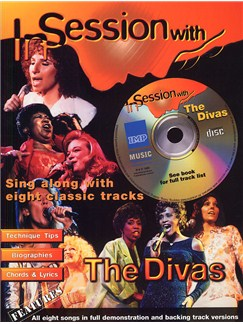 In Session With The Divas Books and CDs | Piano, Voice & Guitar