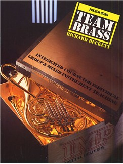 Team Brass: French Horn (Book/CD) Books and CDs | Horn