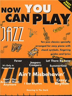 Now You Can Play Jazz (Easy Piano) Books | Piano, Voice, and Guitar Chord Symbols