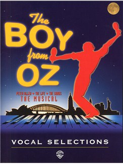 Peter Allen: The Boy From Oz (Vocal Selections) Books | Piano Voice, Guitar (with chord symbols)